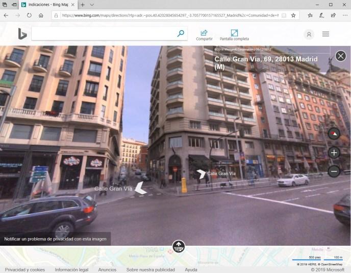 StreetSide Bing maps  - Instituto Galego de Formación