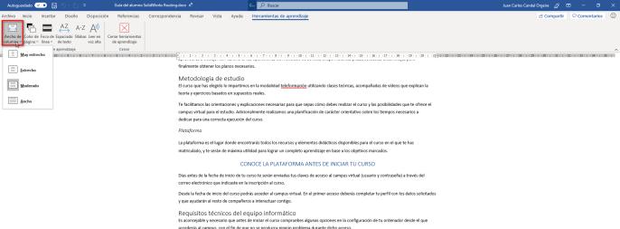 Ancho de columna - Instituto Galego de Formación