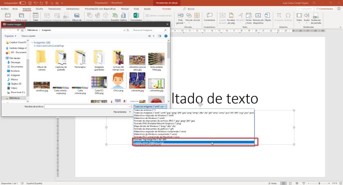 Insertar imágenes SVG - Instituto Galego de Formación
