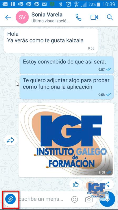 Realizar un anuncio con Microsoft Kaizala - Instituto Galego de Formación