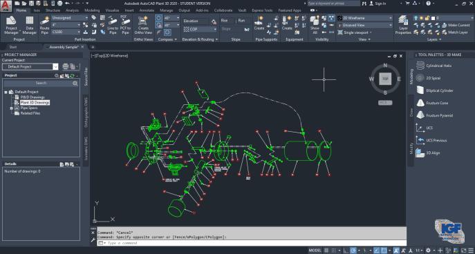 AutoCAD Plant 3D - Instituto Galego de Formación