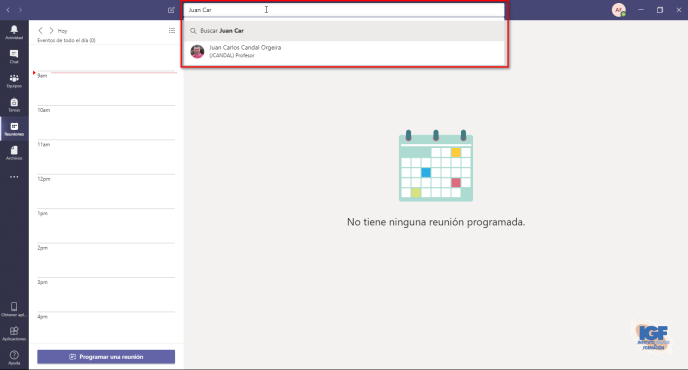 Compartir tu pantalla con Microsoft Teams - Instituto Galego de Formación