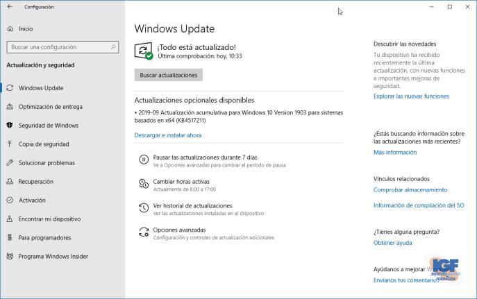 Configurar las actualizaciones de Windows 10 - igf.es