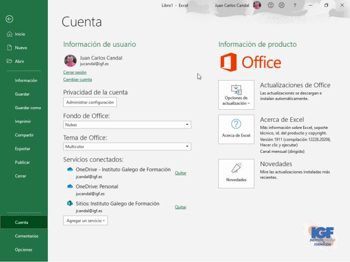 Excel en Office 365, Office 2019 y Office online - igf.es