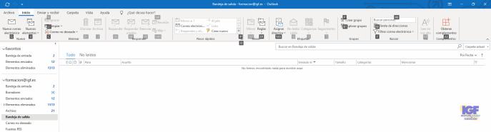Métodos abreviados de teclado para Outlook inicio - igf.es