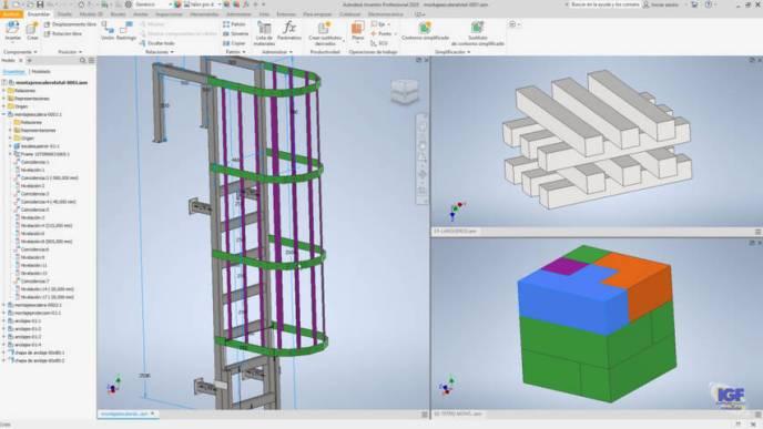 Autodesk Inventor online Tareas-de-ensamblajes-igf.es