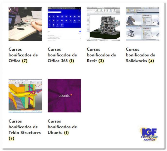Cursos bonificados en IGF - igf.es