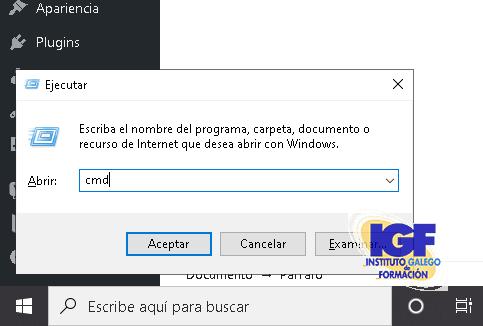 Atajo de teclado ejecutar - igf.es
