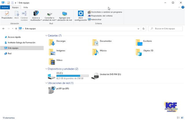 Métodos abreviados de teclado en Windows 10 - igf.es