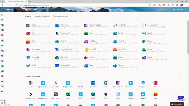 Cursos Microsoft 365 para 2021 - igf.es
