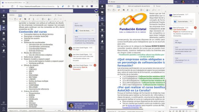 Colaborar en documentos con Teams - igf.es