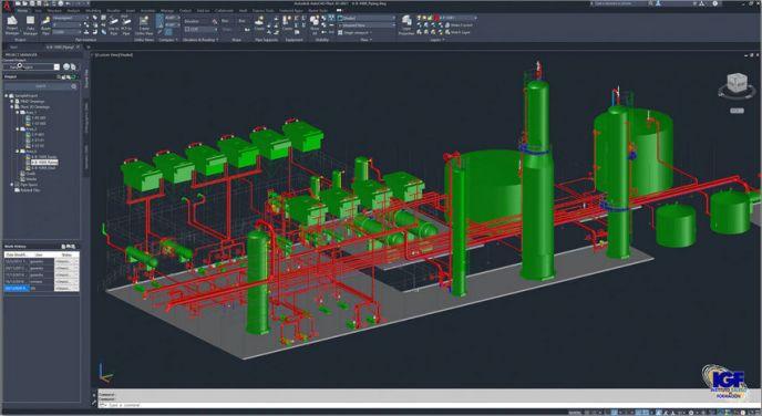 Novedades AutoCAD Plant 3D 2021 - igf.es