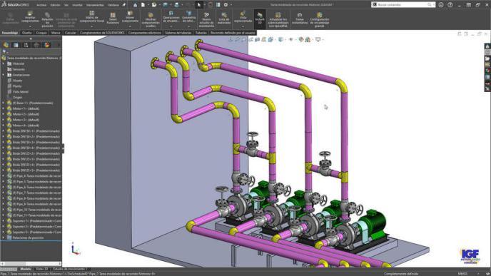 Curso PLUS de SolidWorks Routing bonificado - igf.es