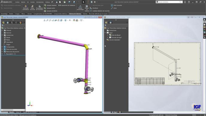 Curso bonificado de SolidWorks Routing - igf.es