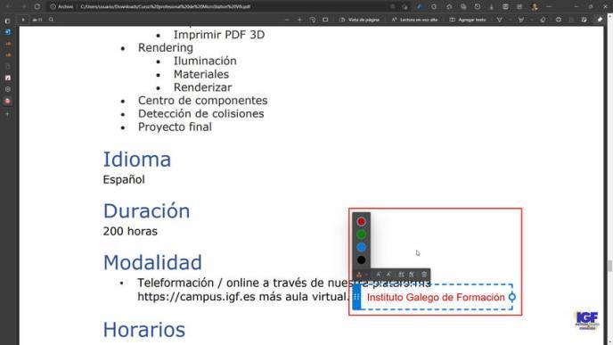 Agregar texto a un PDF