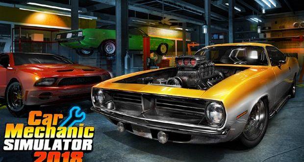 Car Mechanic Simulator 2018 Free Download PC Game