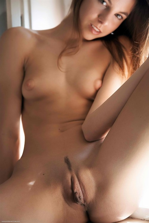 Valuable shaved pussy and tit