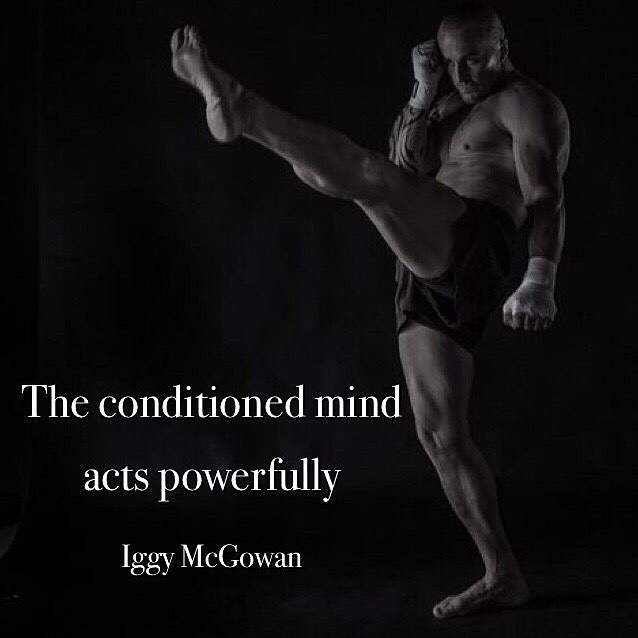 The Conditioned Mind Acts Powerfully