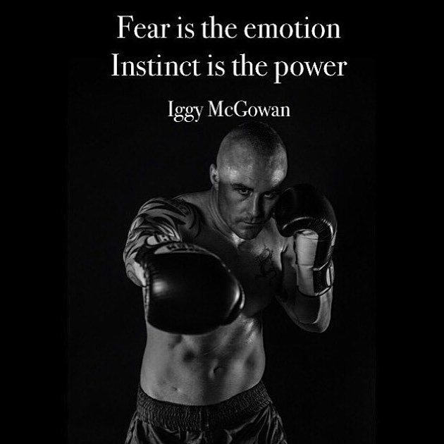 Fear Is The Emotion. Instinct Is The Power.