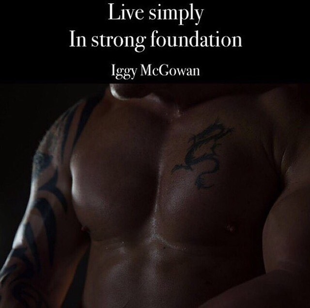 Live Simply in Strong Foundation