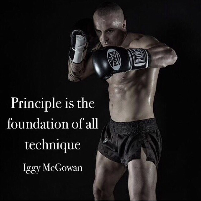 Principle Is The Foundation Of All Technique