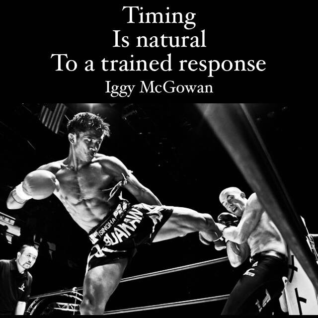 Timing is Natural to a Trained Response