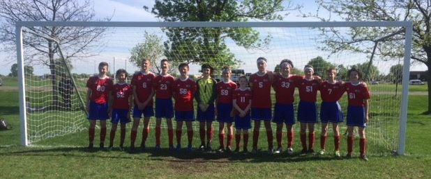 Congrats to the U15 C2 Heat Boys who took first place at the NSC Kick-Off Challenge in Blaine. They won all four of their games this weekend!