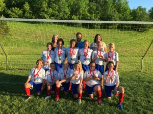 Congrats to U11 Girls Team Second Place at St. Croix
