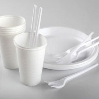 STOVIGLIE IN PLASTICA