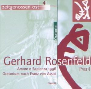 Rosenfeld G. - Amore e Sapienza Sagra Musicale Umbra - M.Jakob [Hastedt HT 5304]
