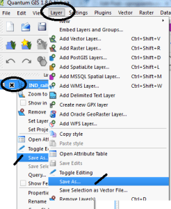 Convert KML to Shapefile in QGIS`