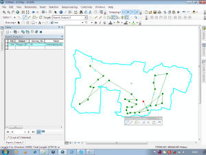 remove gaps from a polygon layer file in ArcGIS: Forming polygons from gaps using Auto-complete tool
