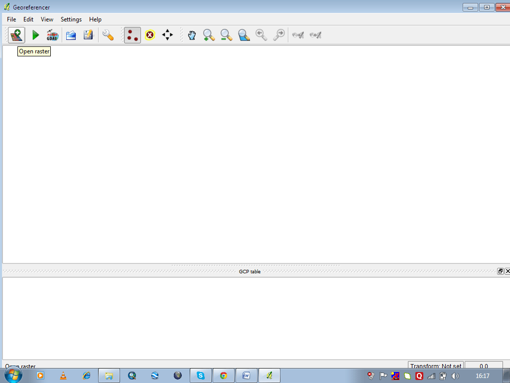 how to open ecw files in qgis