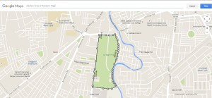measure area in Google map