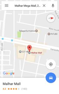 Google Indoor Maps- navigate inside the building