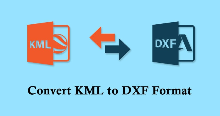 KML to DXF Convert