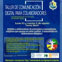TALLER DE COMUNICACIÓN DIGITAL PARA COLABORADORES