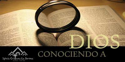 SERIES-CONOCIENDO A DIOS