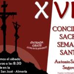XVIII Concierto Sacro de Semana Santa: Parroquia de San José – Almería