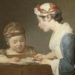 Junio 2018: La joven maestra de escuela, de Jean Simeon Chardin (1699-1779)