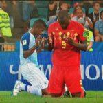 Lukaku y Escobar terminan partido del Mundial en oración