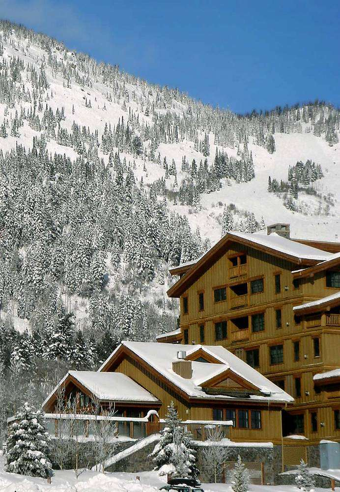 Village may have been a bit quieter and some of them give you a view of the mountain. Teton Mountain Lodge Jackson Hole Usa Iglu Ski