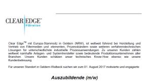 Clear Edge-Germany sucht Auszubildende