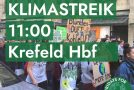 Fridays for Future – 15. März Klimastreik in Krefeld