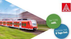 T-Zug –Fahrkarte lösen und ab geht die Reise
