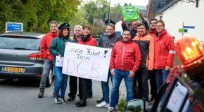 Grenzpendleraktion zur Europawahl
