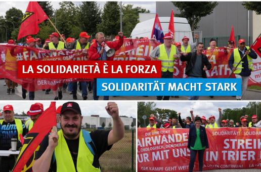 Aufruf zur Solidarität: Riva-Management verweigert Schlichtung – Längster Streik in Rheinland-Pfalz geht weiter