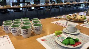 """""""Frauen, die nichts fordern, werden beim Wort genommen – sie bekommen nichts."""" Frauentag bei Siemens Mobility in Krefeld"""