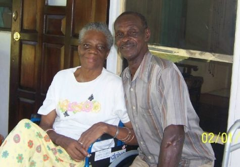 Milton Williams and His Wife