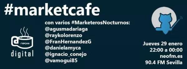 MarketCafe en Café Digital con MarketerosNocturnos